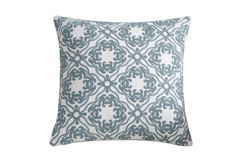 Cotton Soft Various Designs Bulk Wholesale Washable Embroidery Throw Pillow Case