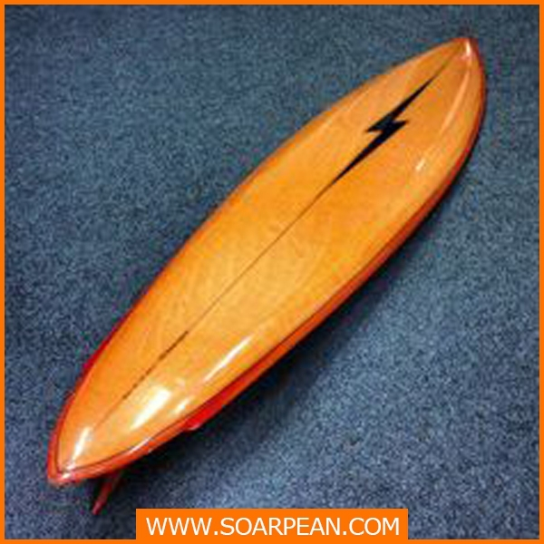 New Products Customized Fiberglass Mini Surfboard