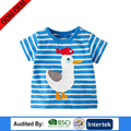 eruopean size plain style kid clothes fashion short sleeve printing design children apparel
