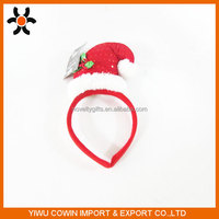 Christmas Decor Gift Cute Chrismas hat Santa Claus head buckle XMAS Headband