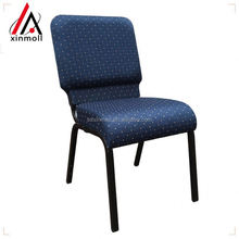 2017 hot selling aluminum stackable cheap church chair seat wholesale