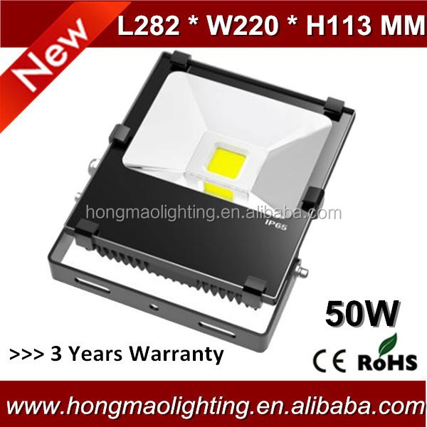 Oudoor 50w led flood light lamp with 3 years warranty