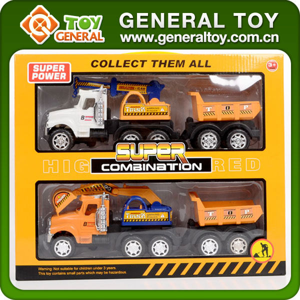 PP Material Toy Type Friction Toy Trucks Toy