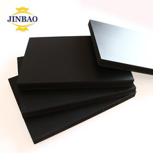 JINBAO good price hard clear plastic sheet pvc rigid foam sheet black