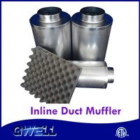 On Sale Best Price Ever UV Penetrable 8 inch duct muffler