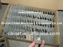 investment casting turbine disc blade for diesel engine turbocharger