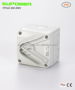 Australian Mini 1P 20A Clipsal Isolator Switch