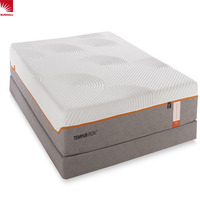 Roll compressed memory foam mattress