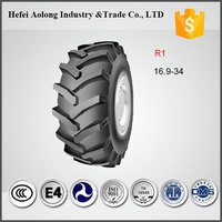 Hot sale R1 tread new agricultural 16.9r34 radial tires