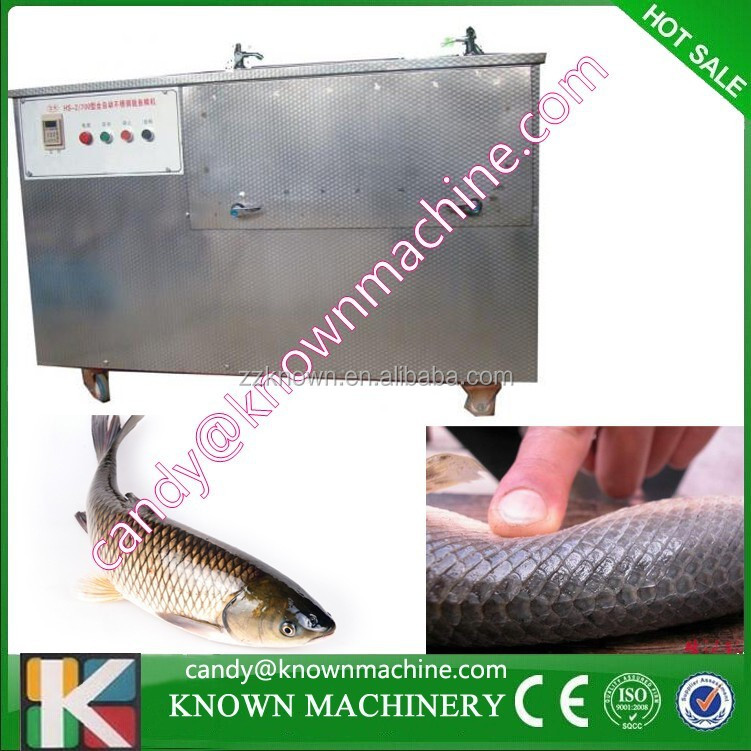 Stainless Steel Large Capacity Fish Scale Removing Machine