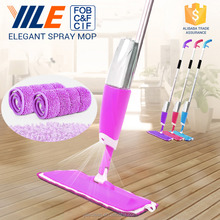 YILE Cleaning Brand Microfiber Floor Mop Magic 360 Spin Spray Mop