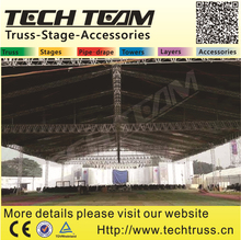 Successful Out concert Truss Structure from Bangladesh customer