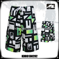 New Hot Sale Colorful Print Soft Fabric Beach/ Board Shorts