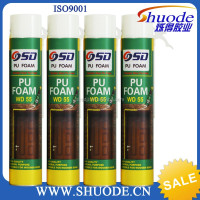 HOT SALE cheap polyurethane foam sealant for installation and woodworking