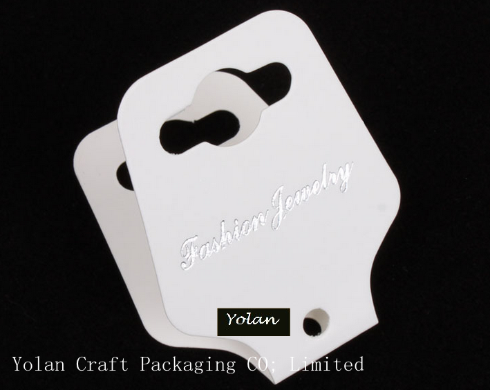 2015 HIGH QUALITY Custom necklace packaging cards