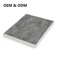 Wholesale Price Auto Cabin Air Filter Activated Carbon Filter For USA Car