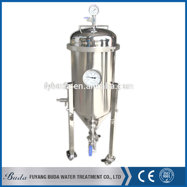 Quality stainless steel conical tank, winery fermentation tank, large beer fermentor tank