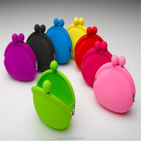 Factory supply FREE samples OEM & Custom bulk wholesale silicone coin purse