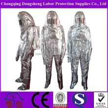 500 Degree Kevlar Aluminized Glass Fire Protective Suit complete