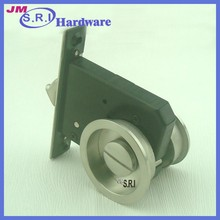 Top selling french style internal sliding wooden door lock