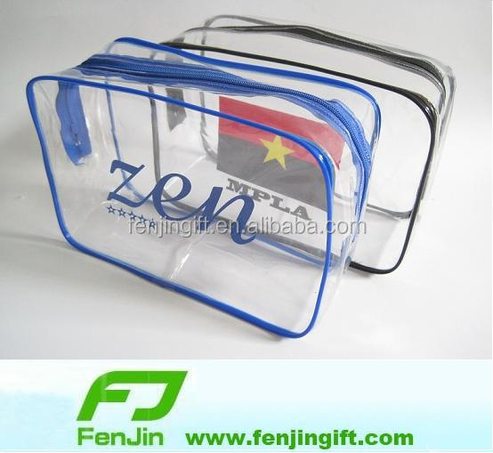 cheap clear plastic makeup bag