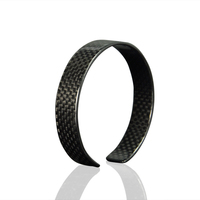 2016 New Wholesale Fashion Christmas Jewelry Charm Bracelets with Carbon Fiber Luxury Design Charms for Women