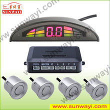 car alarm of LED sensor de estacionamento para reverter carro with manual parking sensor