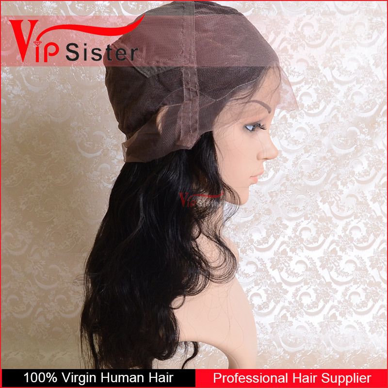 Factory cheap price blonde color virgin human hair lace wig