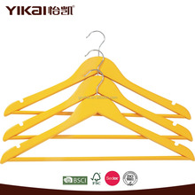 useful wooden display retail packaging hangers for clothes