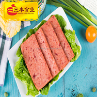 198g 340g 397g 1588g canned chicken luncheon meat of halal