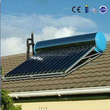 200 Liters Evacuated Tube Compact Non-pressurized solar water heater, vacuum solar collector china, vacuum tube amplifier kit