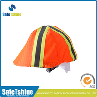 Special design widely used hi vis safety motorcycle helmet cover
