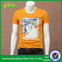 95 polyester 5 spandex t shirts printed t shirts for men photo