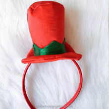 Red hairband with a Ireland red cap