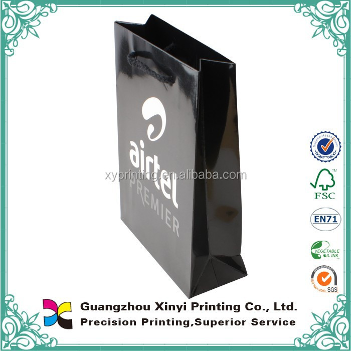 Cute Custom Gift paper bag & shopping paper bags design and wholesale