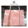 PFM top 5 beautiful pink color with transmitance pakistan onyx marble