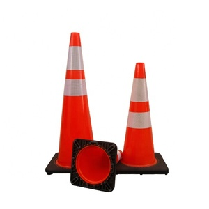 Highway Yellow Plastic Security Cones Suppliers Traffic Cone