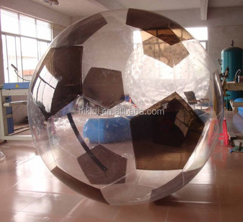 High quality 3m football zorb, football water walking ball, water roller balls for adults D1008C