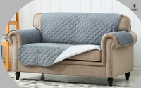 Waterproof pet quilted sofa cover design