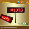Hand held built in lithium battery High Brightness Red LED Placard/paging board