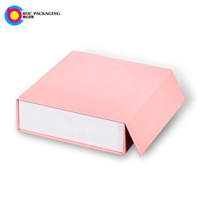 custom magnetic closure cardboard Collapsible Gift Boxes For clothing Packaging