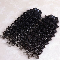 100% Remy Unprocessed Malaysian Body Wave black malaysian Italian Curl wave hair 26inch 3bundle lot