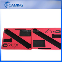 red black eva foam packing insert packaging