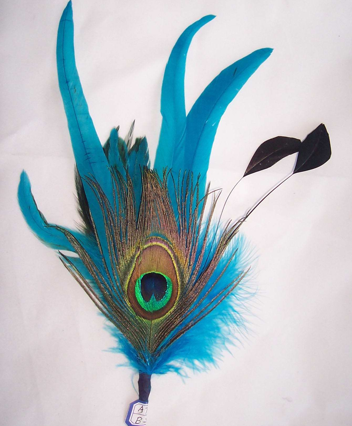 Large Decorative Hat feather