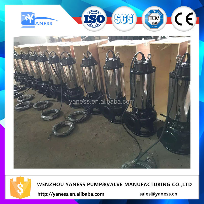 Industrial mechanical seal for non-clog submersible sewage cutter pump