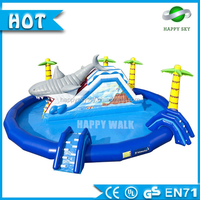 commercial Inflatable amusement park of inflatable water park for kids or adults enjoy for sale