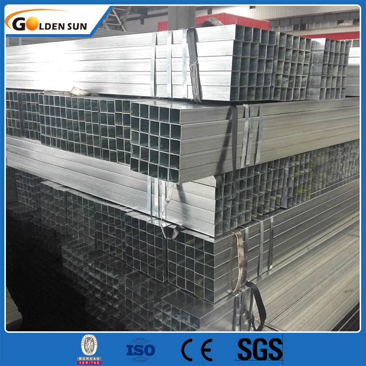 china factory supply directly ASTM A500 50*50 gi pipe galvanized square tube black/iron square tube