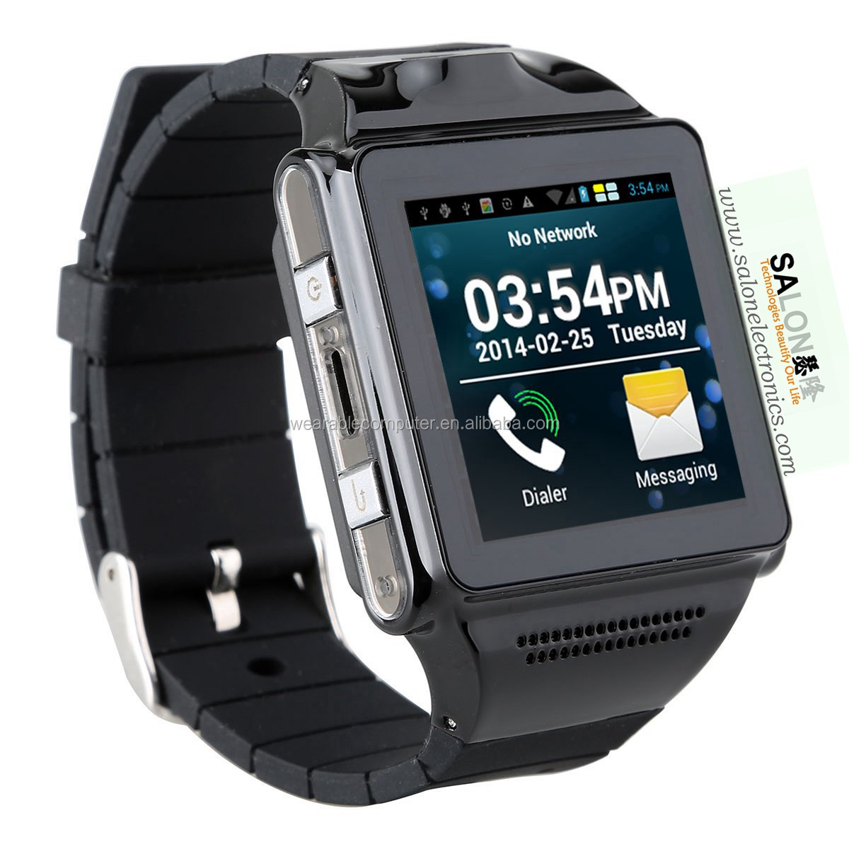 Free shipping android 4.0 smart watch phone MTK6577 dual core support wifi,bluetooth,gps,android bluetooth watch