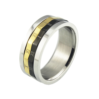High Qulaity Stainless Steel Wide 2016 Unique Designs Men's Ring