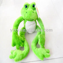 jiangsu toy factory supply lovely plush & stuffed toys frog